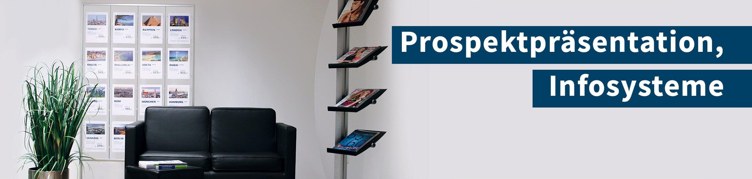 Prospektpräsentation, Infosysteme